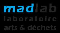 Logo MADLAB - laboratoire arts é déchets